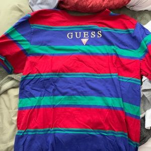 Guess Shirts - Guess Striped Tee
